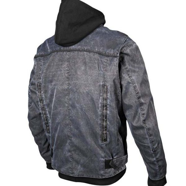 Textile Riding jackets with poly hood